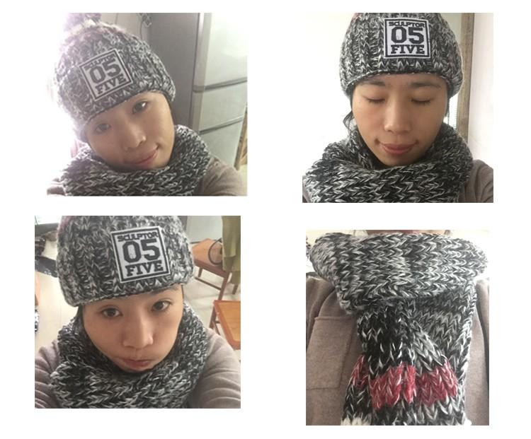 glove scarf hat -set (3)
