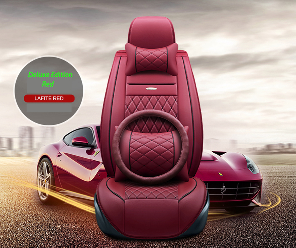 (Front+Rear)Special Leather car seat covers For Benz A B C D E S series Vito Viano Sprinter Maybach CLA CLK GLC car accessories image