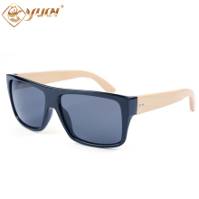 Natural so real sunglasses good quality handmade bamboo arms fashion summer sun glasses for men oculos de sol feminino 1033B