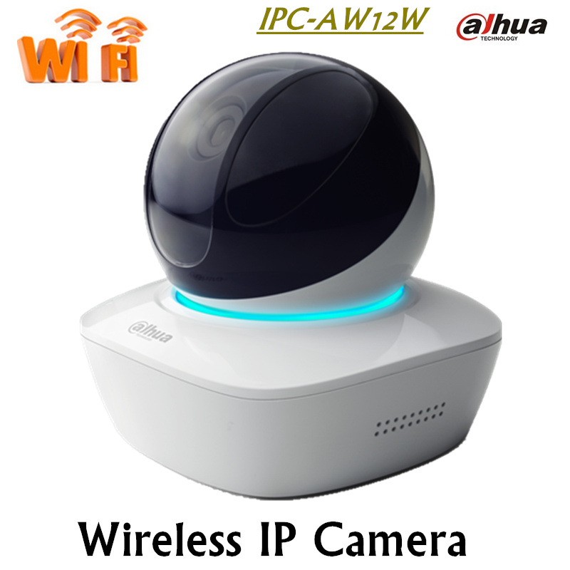 Original English Version DAHUA Ip Camera IPC AW12W 1Mp Mini Network Wifi Camera built in MIC