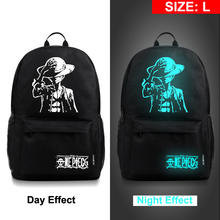 One Piece Naruto Night Light Backpack
