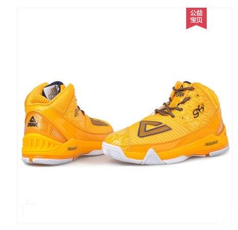 Пик Баскетбольная обувь Мужская натуральная скидка Джордж Хил треугольник Спортивная обувь Мужская обувь E11975A
