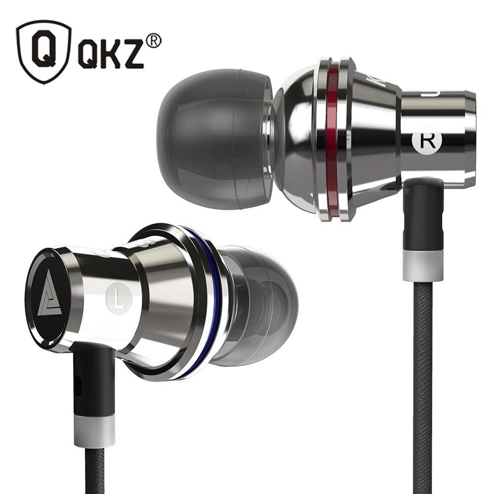 Genuine QKZ KD3 UFO Auricolari HIFI Auricolare in-ear BASS Auricolari In Metallo Auricolare per Earpods fone de ouvido Airpods audifonos