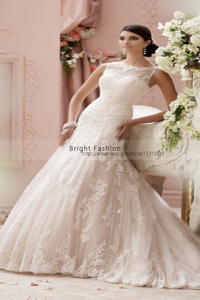 Online buy wholesale christian wedding dress from china for Wedding dresses images photos