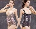 Женщины боди дно магнитного дышащий живот груди уход за телом формирователь девчушки сексуальные кружева NY111
