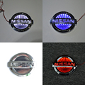 3D Car Led Logo Light Auto Badge Sticker Rear Emblem Tail Lamp for NISSAN LIVINA Cedric White/Red/Blue
