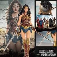Wonder Woman figure toys doll 19cm justice League ARTFX Wonder Woman Statue Collection Model Action Figure Toy