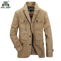 2017 New Fashion High Quality Lattice Spring Autumn Cotton Man Charm Men Jacket Personality Dress Military Men Casual Coat 115wy