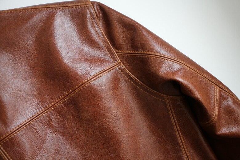 HTB1Qf6 yY1YBuNjSszhq6AUsFXa4 Free shipping,Brand men's 100% genuine leather Jackets,classic oil wax cow leather jacket,japan brakeman jacket.original