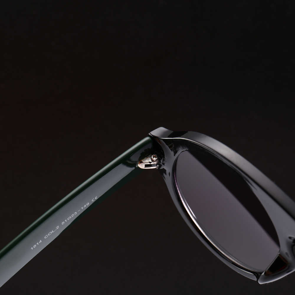 c2748470fec ... Kachawoo Round Sunglasses Men Modern Accessories Thick Frame Yellow  Black Retro Sun Glasses Women Fashion 2019 ...