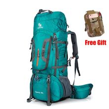 80L рюкзак для кемпинга, походов, скалолазания, нейлоновая сумка Superlight, спортивная сумка для путешествий, брендовый рюкзак, сумки на плечо 299