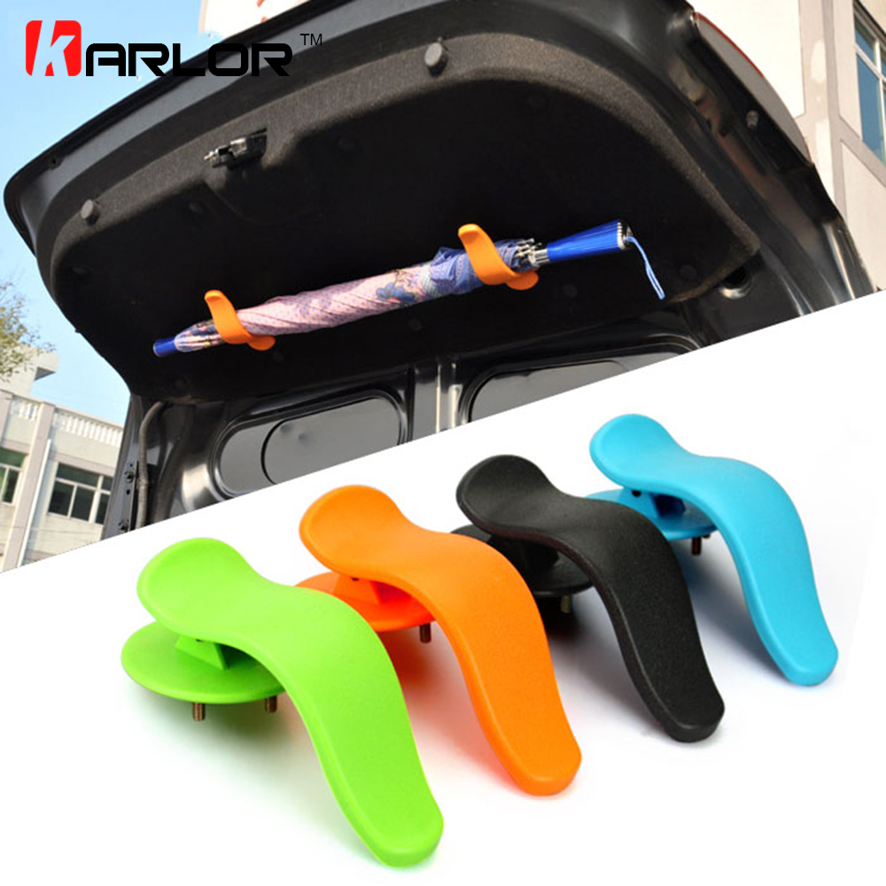 1 pair universal interior trunk mounting bracket umbrella holder fastener with screws for. Black Bedroom Furniture Sets. Home Design Ideas