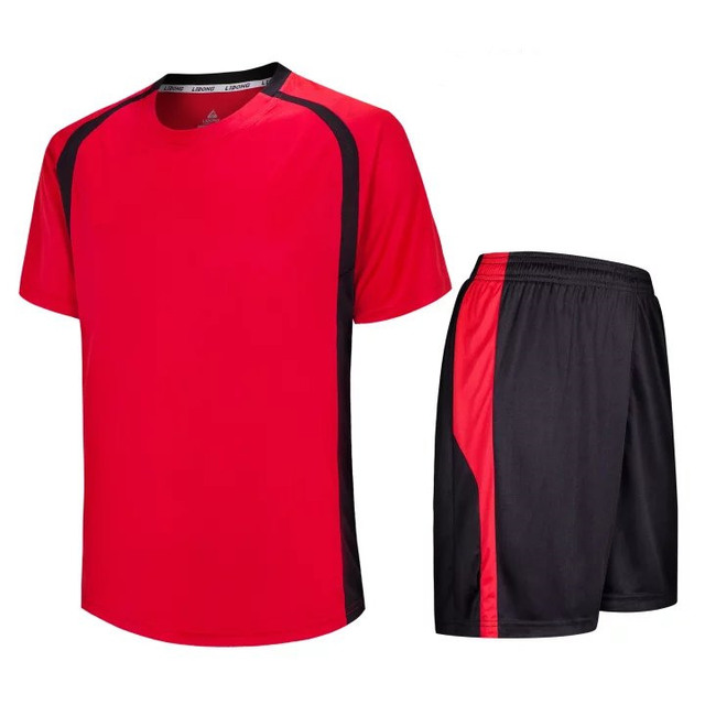 b9f73ec64 `Newly design comfortable top quality jersey low price football kits plain  soccer uniforms for kids quick dry jersey LD=5009