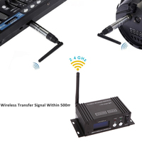 2.4ghz Dmx 무선 장거리 Dmx 컨트롤러 콘솔 조명 Wifi Dmx 컨트롤러 무대 조명에 대 한 LCD 디스플레이