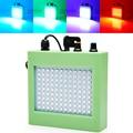 Портативный Звук Управления 108 RGB/Белый SMD5050 LED Disco Party DJ Бар Свет LED Лампа Строб Музыкальное Шоу Проектор Этап освещение