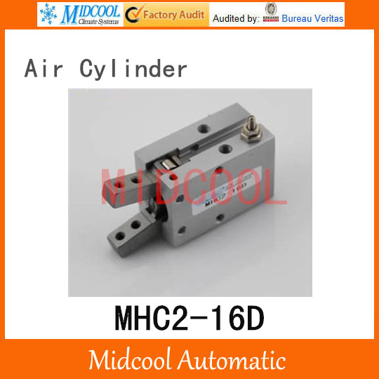Pneumatic air cylinder gripper MHC2-16D  double acting pivot open closed gas claws manipulator
