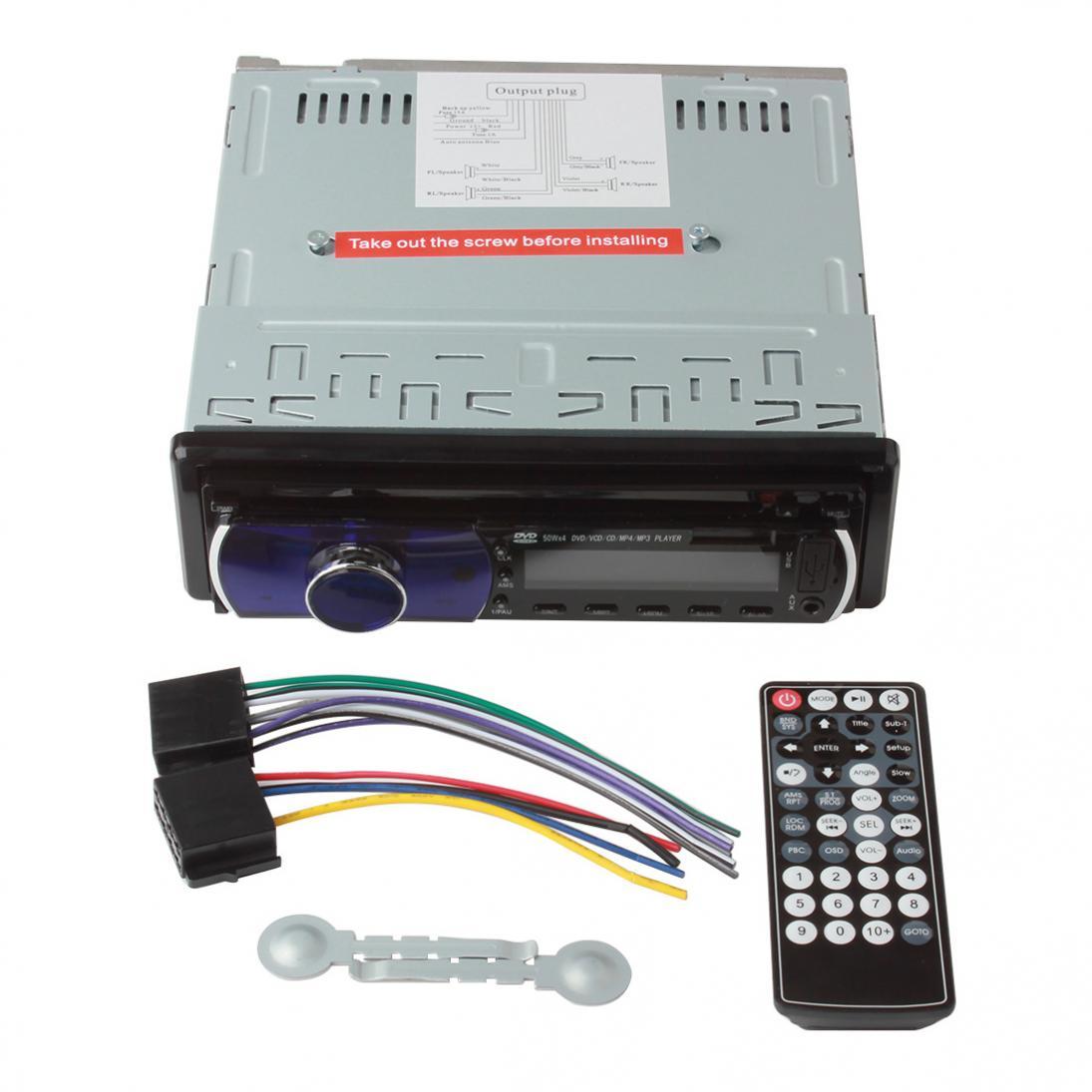 50WX4CH voiture mp3 lecteur automatique numérique changeur de musique voiture stéréo Audio In-Dash FM récepteur SD USB MP3 Radio lecteur de musique