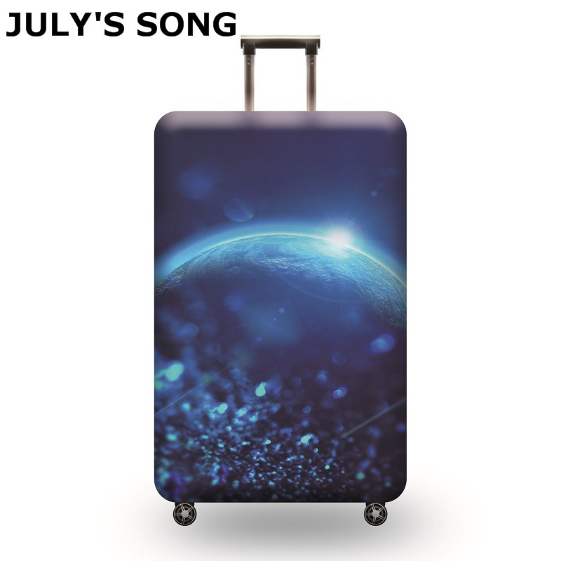 JULY'S SONG Elastic Luggage Protective Cover Apply To 19-32 Inch Trolley Suitcase Protect Dust Case Cover Travel Accessories цена
