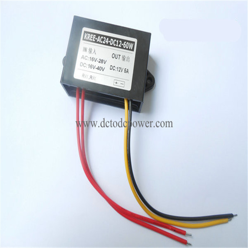 AC-DC 24V to 12V 5A monitor power converter мультиметр uyigao ac dc ua18