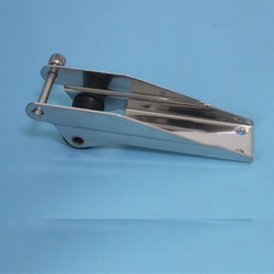 Rvs 316 Boog Anker Roller-Vaste Boot/Marine 8-7/8
