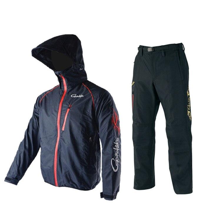 2017 NEW Gamakatsu font b Fishing b font clothes suit coat jacket parka waterproof GM3434 Keep