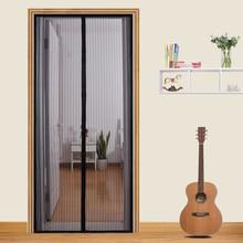 210 X 100cm Hands-free Magic Net Mesh with Magnets Anti Fly Bug Mosquito Door Screen Curtain Door Mosquito Screens