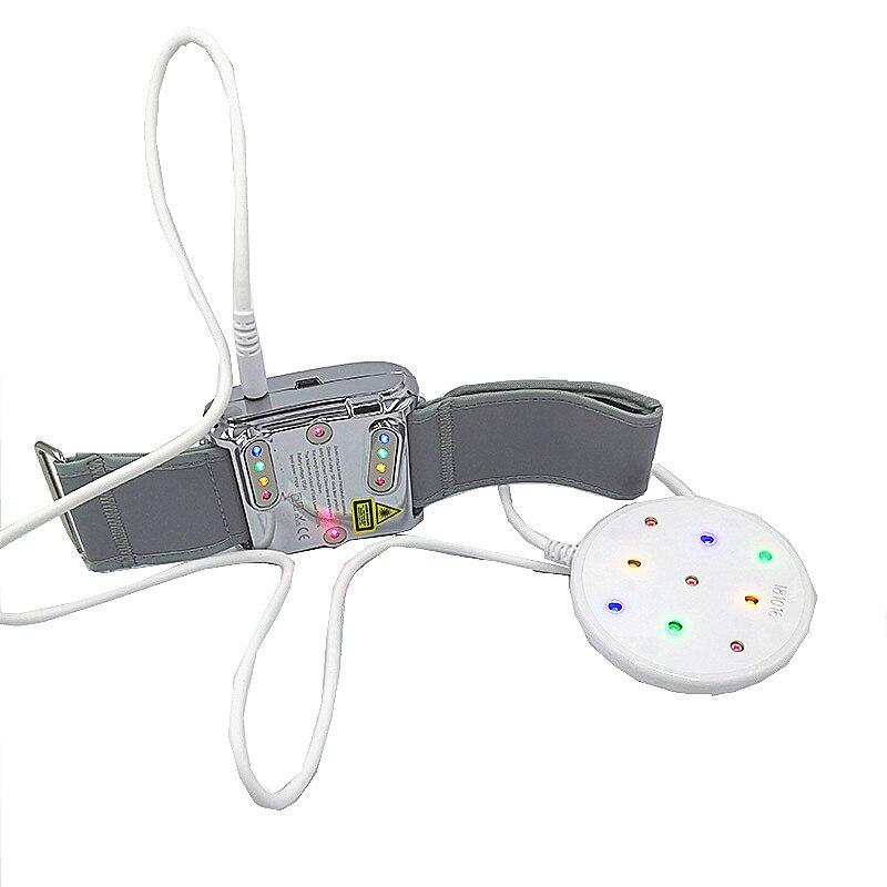 Traitement des acouphènes Laser Montre Diabétique Montre Laser Acupuncture Thérapie Haute Sang Pression Varices Veines Sinusite Rhinite