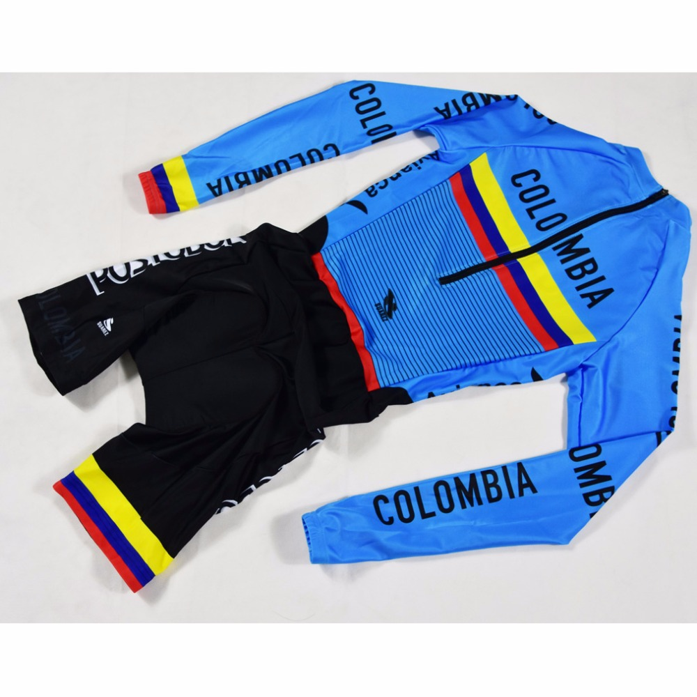 2018 COLUMBIA TEAM Breathable Quick Dry long Sleeved