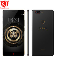 Original ZTE Nubia Z17 Enjoy Borderless Mobile Phone 6GB RAM 64GB ROM Snapdragon 653 Octa Core 5.5″ 13MP Android 7.1 Cell Phone