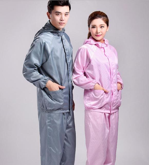 Jumpsuit Antistatic clothing garment of clean room Spray painting work clothes Workshop servant