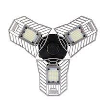 60W Led Deformable Lamp Garage light E27 LED Corn Bulb Radar Home