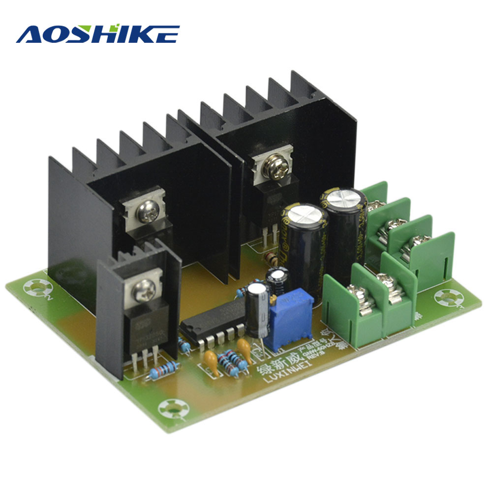 AOSHIKE 50HZ Low-frequency Transformer Inverter Drive Board Power Frequency Inverter Accessories Iron Core Converter Board inverter drive board power frequency transformer driver board dc12v to ac220v home inverter drive board