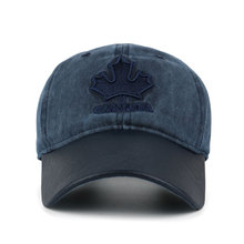 """Embroidered Maple Leaf and """"Canada"""" Dad Hat"""