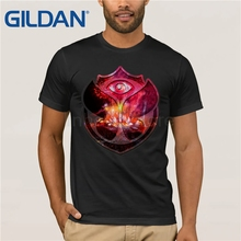 GILDAN tomorrowland t shirt Men anime T-Shirt Tops boy Short Sleeve t-shirt top Tee Clothes MR1603