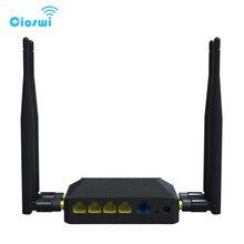 3g 4g openwrt kablosuz sim kartlı router yuvası 2.4GHz 300Mbps 128MB İngilizce sürüm wifi yönlendiriciler