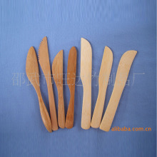 Factory direct butter knife cake knife bamboo spatula mask plate fruit knife models customized a variety of styles