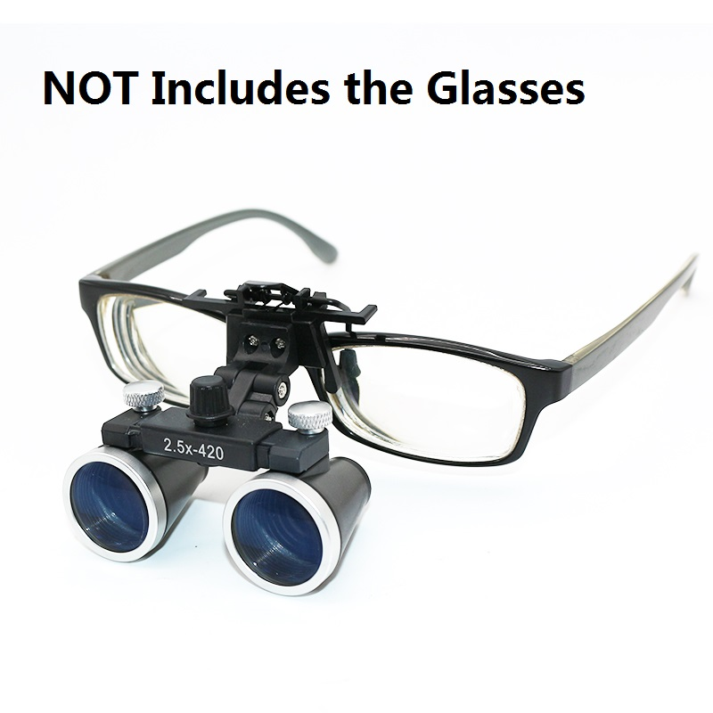 Image 5 - Dental Loupes 2.5X 3.5X Magnification Galilean Binocular Medical Magnifier Dentistry Surgical Optical Glass Lens  Dentist-in Magnifiers from Tools