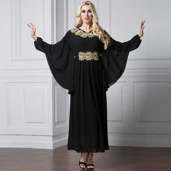 Abayas For Women 2019 Kaftan Abaya Saudi Arabia Chiffon Hijab Muslim Dress Jilbab Robe Dubai Caftan Turkish Islamic Clothing - DISCOUNT ITEM  53% OFF All Category