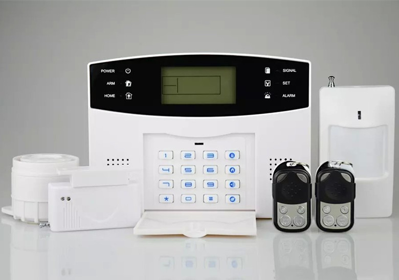 GSM Alarm System With LCD Display  433/315,900/1800,850/1900MHZ Burglar Alarm System