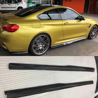F80 M3 F82 M4 Carbon fiber side skirts rear spoiler Car body kit for BMW F80 M3 F82 M4 PSM Style 15 17