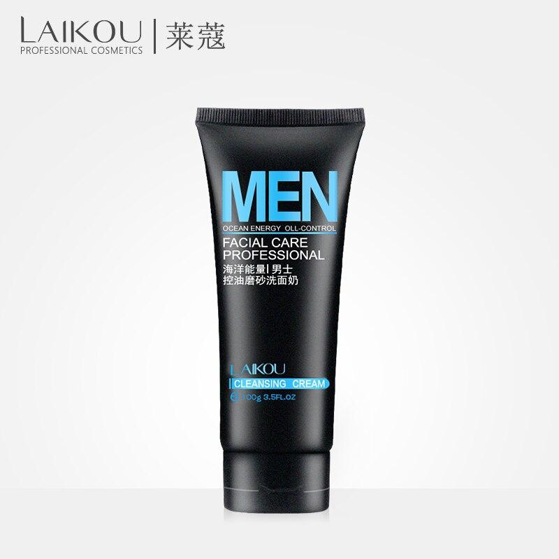 100% QualitäT Laikou Männer Gesichts Reiniger Gesicht Waschen Feuchtigkeitsspendende Mann Hautpflege Öl Steuer Mitesser Entfernen Koreanische Kosmetik Norish