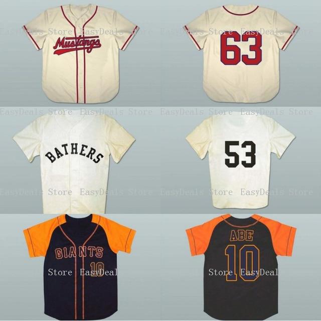 ... Blue Limited Jersey - New York  Baseball Jersey 1963 Billings Mustangs  63 Shinnosuke Abe 10 Yomiuri Giants 63 bathers Stitched Men Throwbace ... cad1b8fda