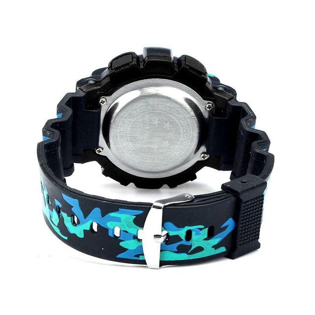 Ragazzi Della Vigilanza LED Digitale Impermeabile Vigilanza di Modo del Quarzo di Sport Militare Per Bambini In Pelle Orologi Da Polso Relojes De Hombre C811090