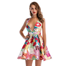 e883f55e72353 Majadeice Kenny 2019 Gowns De Fiesta Clothes Women Club Factory Mini Dress  Sexy