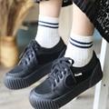 Autumn Winter Thick Knee-high socks preppy style socks classic sock 100% cotton stripe socks