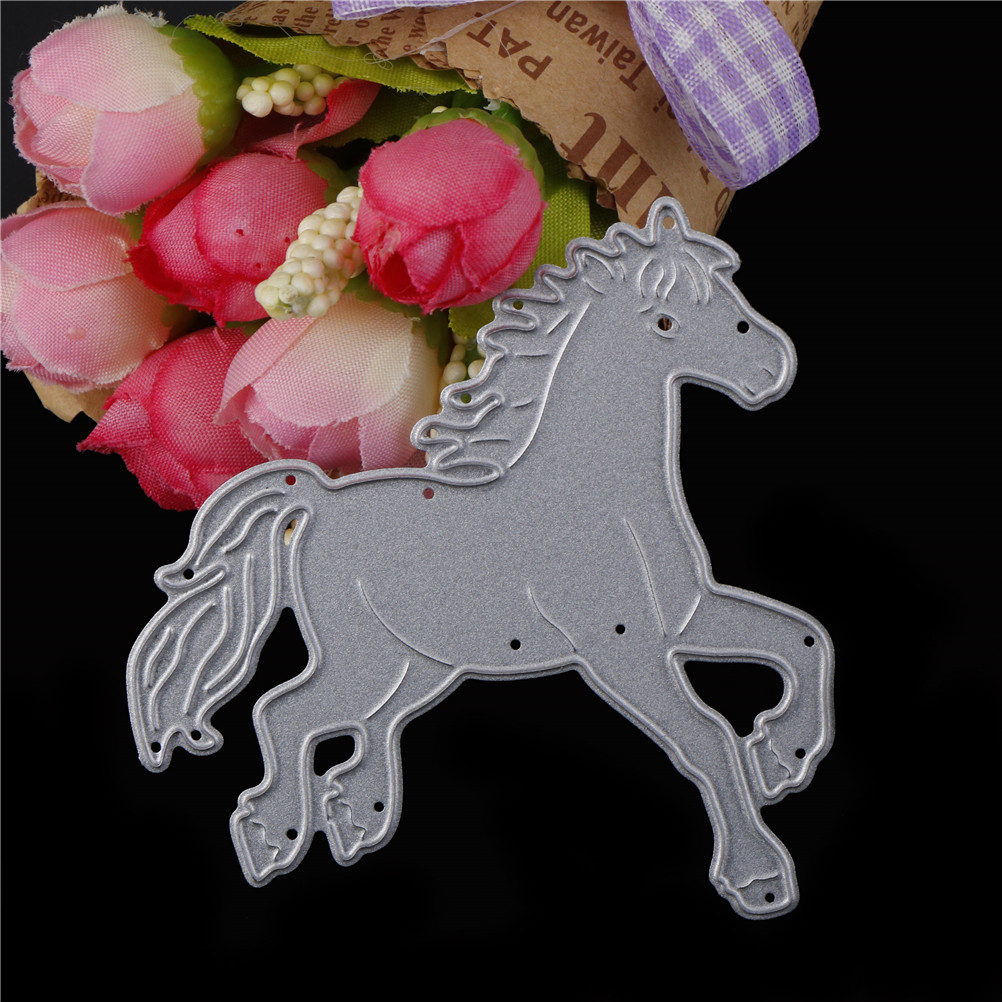 Silver Animal Carbon Steel Scrapbooking Embossed DIY Die Engraving Cutter Mold