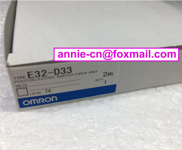 100%New original E32-D33, E32-ZT21L  2M  OMRON  PHOTOELECTRIC SWITCH FIBER UNIT dhl ems 5 sests new in box for omron plc e32 d21b e32d21b photoelectric switch fiber unit