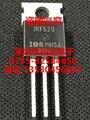 10 pçs/lote NOVO IR Power MOSFET IRF520 IRF520N TO-220 N-Canal