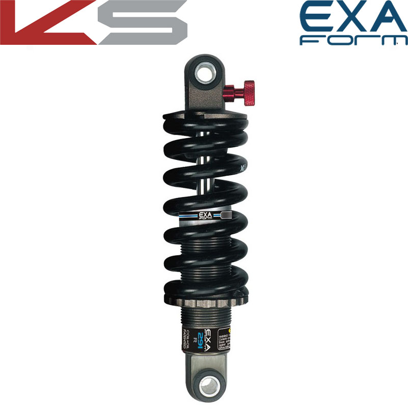 EXA Form Rear Shock Absorber 291 R Adjustable Suspension Shocks Spring Kindshock Downhill MTB Bike 125 1000 1250 Lbs E Scooter