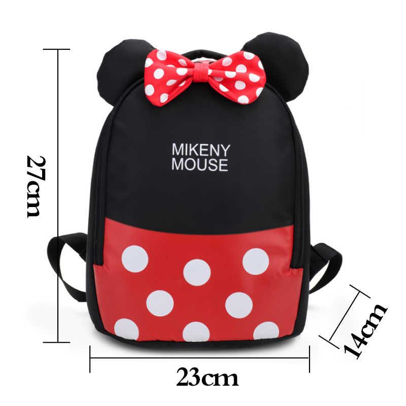 2019 мультфильм дети Микки и Минни сумка ранцы новые детские милые плюшевые школьные рюкзак для девочек мальчиков школьный подарок